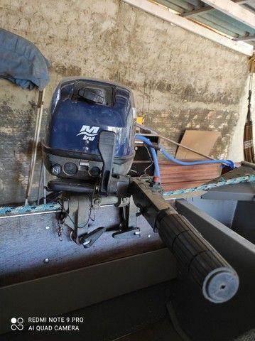 Motor de popa 15 HP - Foto 3