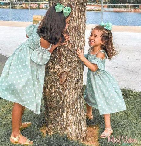 Roupas femininas infantis