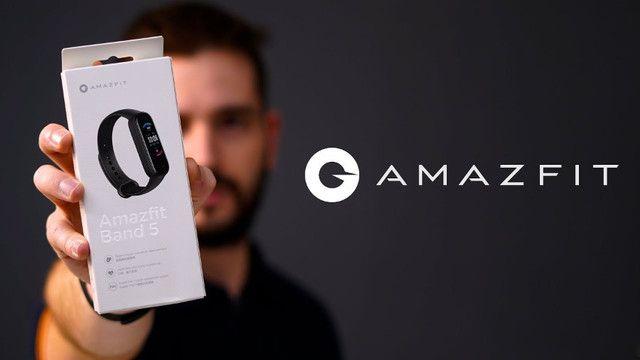Relógio Amazfit Band 5 Com Alexa Global - A pronta Entrega Imediato