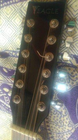 Violão Eagle 12 cordas Revisado por Luthier - Foto 3