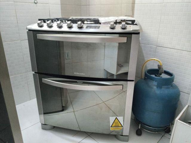 Fogão Electrolux inox 5 bocas 2 fornos modelo TOP DE LINHA - Foto 6