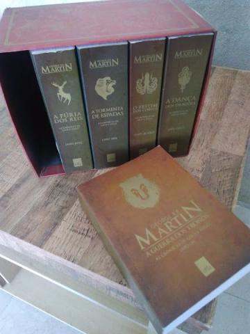 Box 5 Livros Game of Thrones