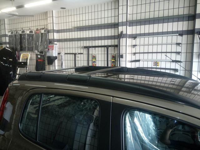 Rack travessa Fiat Uno Way em aluminio Projecar - Foto 4