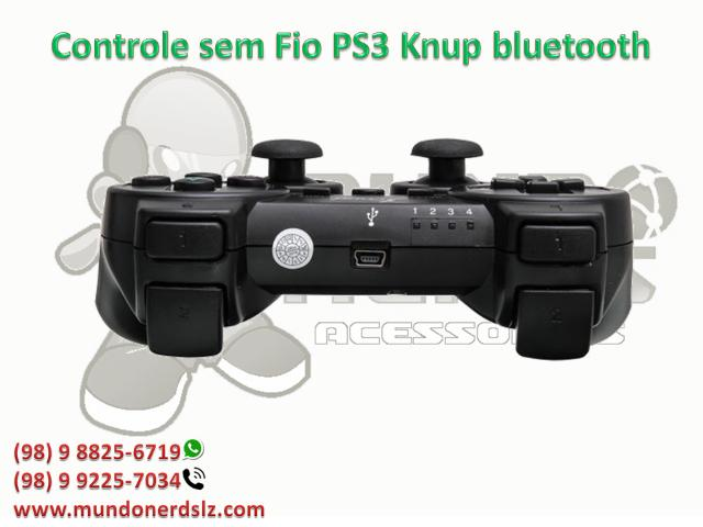 Controle sem Fio PS3 Knup bluetooth em são luis ma - Foto 3