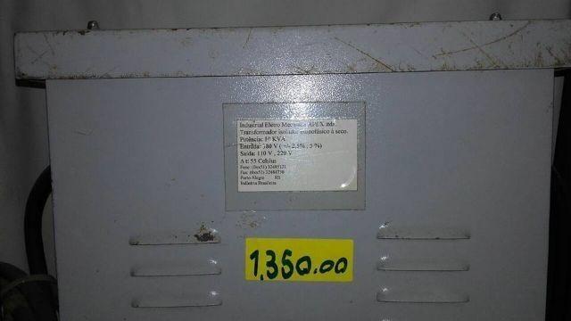 Transformador 10 kwa de 380v para 220/110v