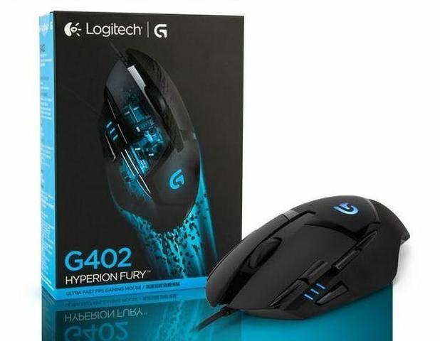 Mouse Gamer Logitech G402 Hyperion Fury Usb 4000dpi (Ac cartões)