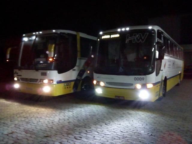 Ônibus rodoviário Comil 3.45 motor Mercedes O400 eletrônico ano 2000 46 lugares soft - Foto 2