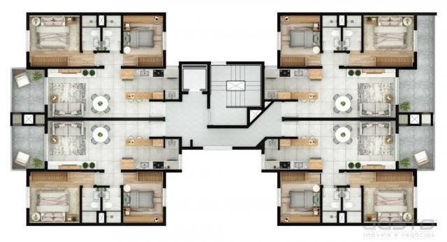 Apartamento à venda com 2 dormitórios em Morro do espelho, São leopoldo cod:11337 - Foto 6