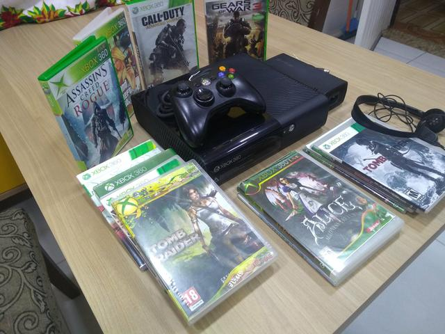Xbox super slim desbloqueado joga online - Foto 3