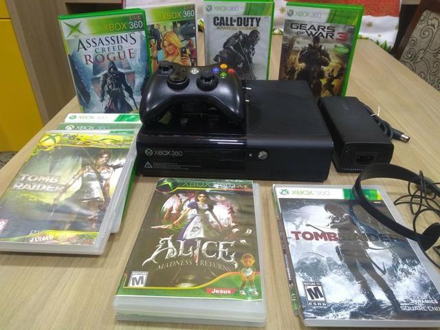 Xbox super slim desbloqueado joga online