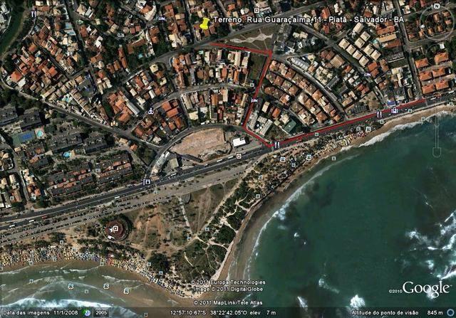 Alugo terreno em piatan perto há um minuto da Praia - Foto 3