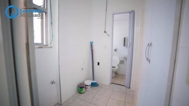 Apartamento com 3 dormitórios à venda, 99 m² por R$ 350.000 - Cocó - Fortaleza/CE - Foto 11