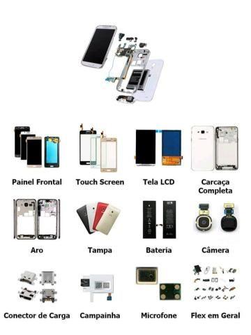 Eu arrumo tela celular tenho fone carregador e película de vidro - Foto 3