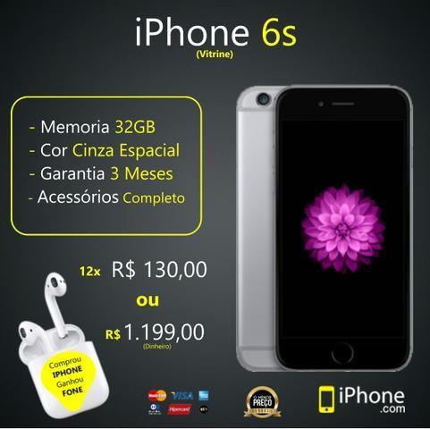 IPhone 6s 32GB | Black | Somos Loja Física | Aceitamos Troocas