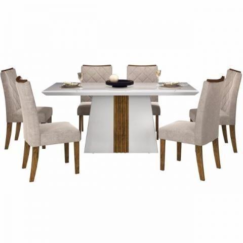Mesa italia com 6 cadeiras - Foto 2