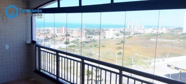 Apartamento com 3 dormitórios à venda, 78 m² por R$ 510.000 - Praia do Futuro - Fortaleza/ - Foto 3