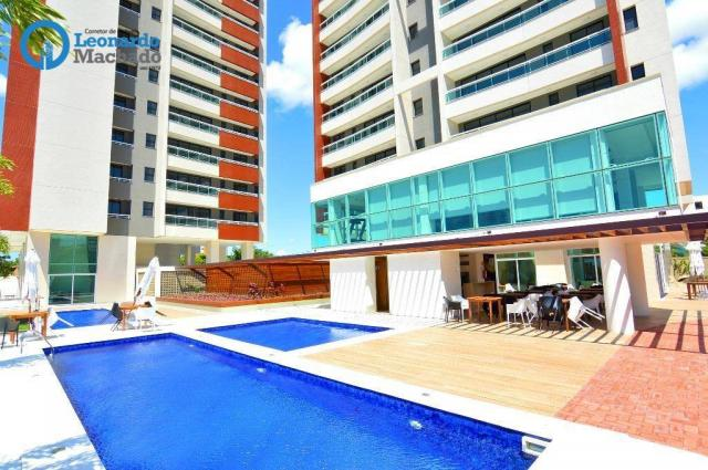 Apartamento residencial à venda, Engenheiro Luciano Cavalcante, Fortaleza. - Foto 2