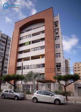 Apartamento com 3 dormitórios à venda, 99 m² por R$ 350.000 - Cocó - Fortaleza/CE