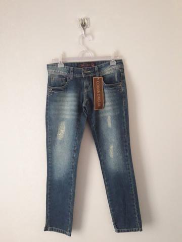Peças jeans femininas tamanho 38 - Foto 4