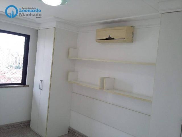 Apartamento com 3 dormitórios à venda, 150 m² por R$ 795.000 - Aldeota - Fortaleza/CE - Foto 15
