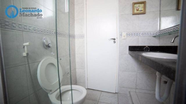 Apartamento com 3 dormitórios à venda, 99 m² por R$ 350.000 - Cocó - Fortaleza/CE - Foto 8