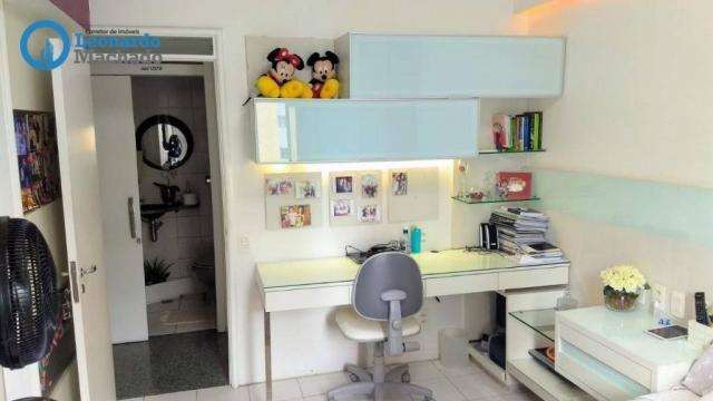 Apartamento com 3 dormitórios à venda, 126 m² por R$ 550.000 - Aldeota - Fortaleza/CE - Foto 8