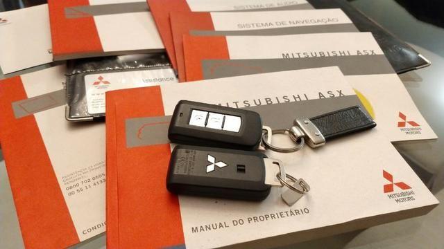Único Dono ASX 2.0 AWD 4x4 Branca 2014 Particular Impecável Manual Chave Reserva Placa I - Foto 20