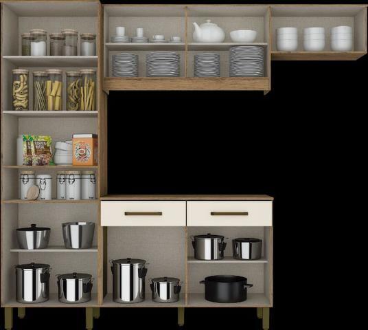 Kit Cozinha B116 07 Portas e 02 Gavetas - Foto 3