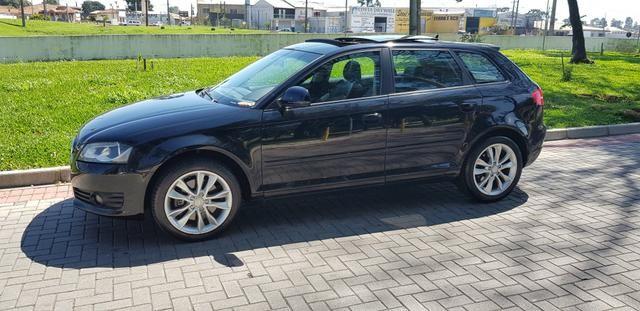 Audi a3 2.0t sportback tfsi s-tronic impecável com teto - Foto 7