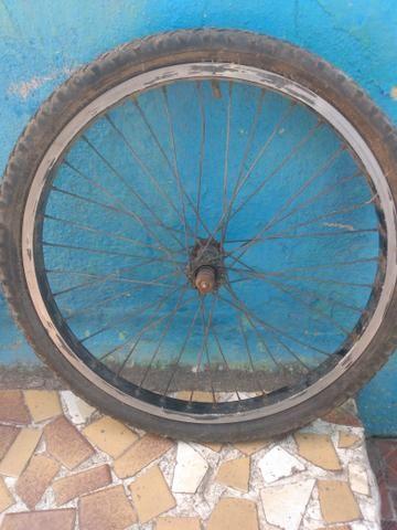 Pneu bike com aro 20 completo entregar com taxas - Foto 4