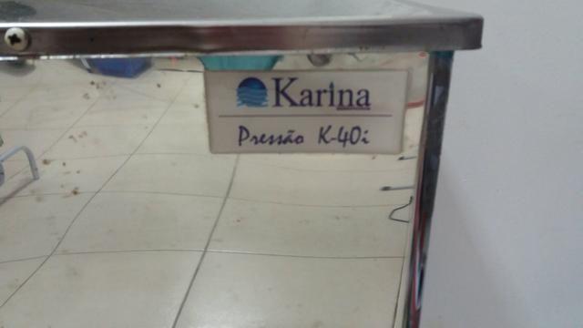 Vendo bebedouro de alumínio de pressão 127v karina - Foto 2