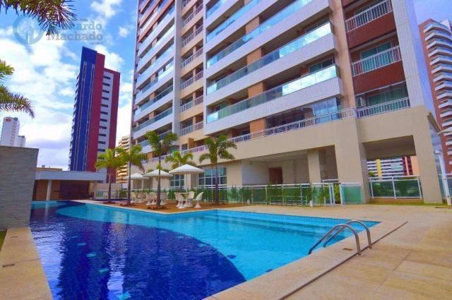 Apartamento com 2 dormitórios à venda, 70 m² por R$ 410.000,00 - Guararapes - Fortaleza/CE - Foto 15