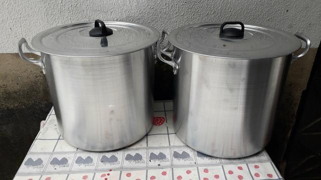 Caldeirão de alumínio de 20 litros - Foto 3