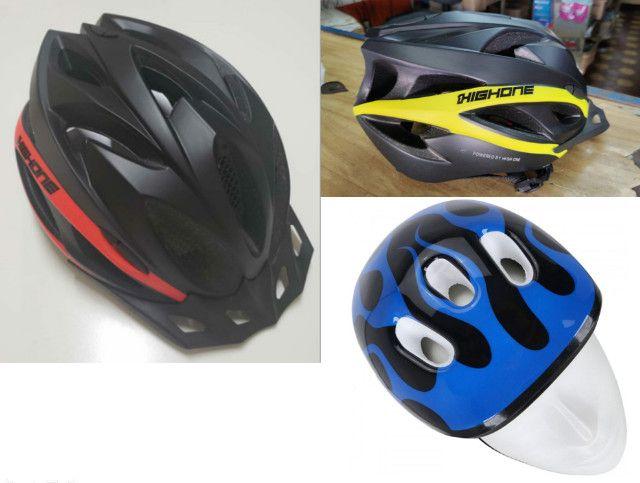 Bicicleta Acessórios, Banco, Roupas, Óculos, Transbike Engate e Porta Malas - Foto 4