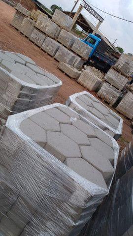Blocos de concreto, Tubo de concreto, Estrutura Galpão Premoldado  - Foto 2