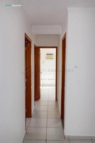 Apartamento com 3 dormitórios para alugar, 66 m² por R$ 1.500,00/mês - Centro Sul - Cuiabá - Foto 3