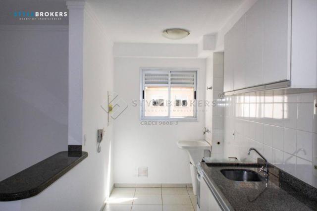 Apartamento com 3 dormitórios para alugar, 66 m² por R$ 1.500,00/mês - Centro Sul - Cuiabá - Foto 2