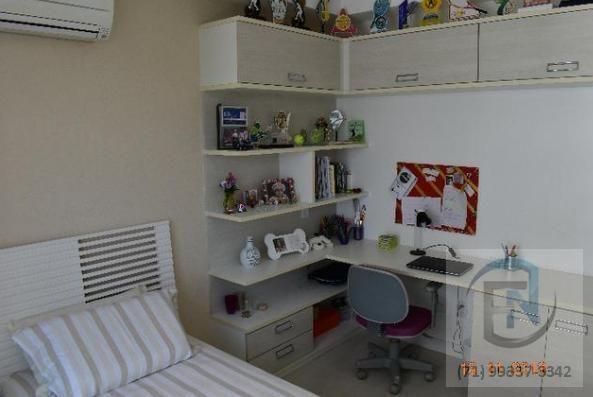 Apartamento para Venda em Salvador, Patamares, 4 dormitórios, 4 suítes, 5 banheiros, 4 vag - Foto 12