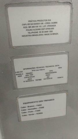 Masseira aspiral 45 kg - Foto 3