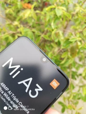Xiaomi Mi A3 Dual Sim 64 Gb 4 Gb Ram Com Garantia De 6 Meses Azul/Branco - Foto 3
