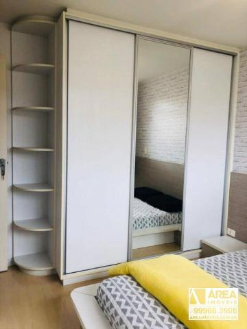 Apartamento com 2 dormitórios à venda, 62 m² por R$ 205.000 - Santa Quitéria - Curitiba/PR - Foto 9