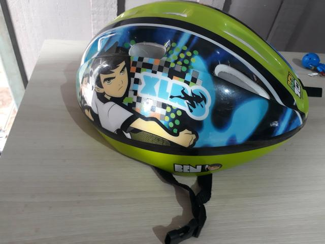 Vendo capacete infantil bicicleta