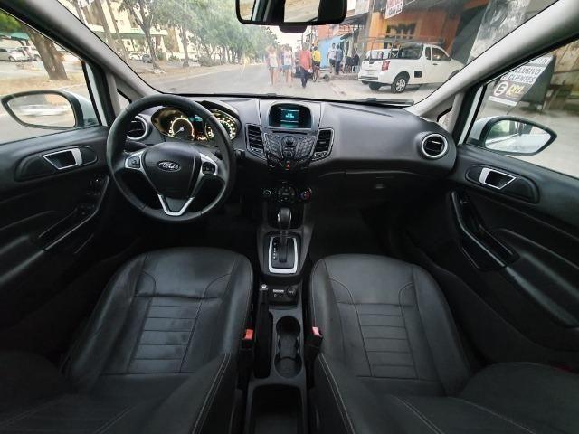 New Fiesta 1.6 2014 Titanium automático Top - Foto 7