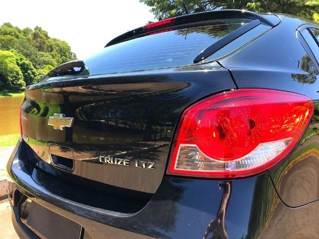 Cruze LTZ Hatch Top de Linha Teto Solar - Corolla Jetta Civic Fusion Focus Golf - Foto 9