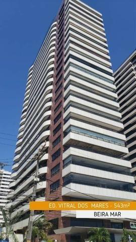AP1633 Vitral Dos Mares, 543m², Apartamento 5 Suites, Na Beira Mar 6 Vagas Vista 100% Mar