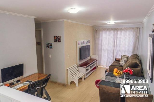 Apartamento com 3 dormitórios à venda, 62 m² por R$ 211.000 - Santa Quitéria - Curitiba/PR - Foto 2