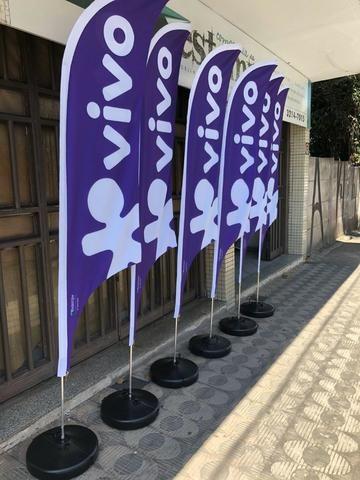 Wind banner e Tapete personalizado - Foto 2