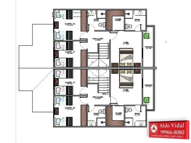 ARV 91 Duplex 3 Qrtos, Médio Padrão, Área gourmet com Churrasqueira, Amplo Quintal, Morada - Foto 16