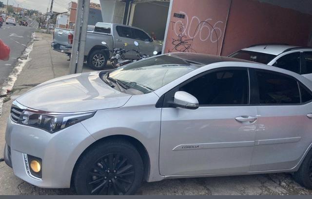 Corolla 2017 gli automático quitado emplacado - Foto 2
