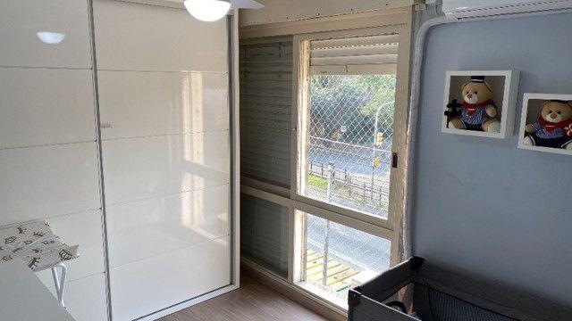 Apartamento 2Q Semimobiliado Nonoai ZS Poa - Foto 11